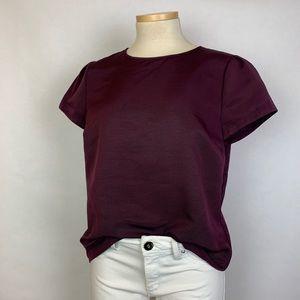 Brooks Brothers Burgundy Short Sleeve Shirt 6